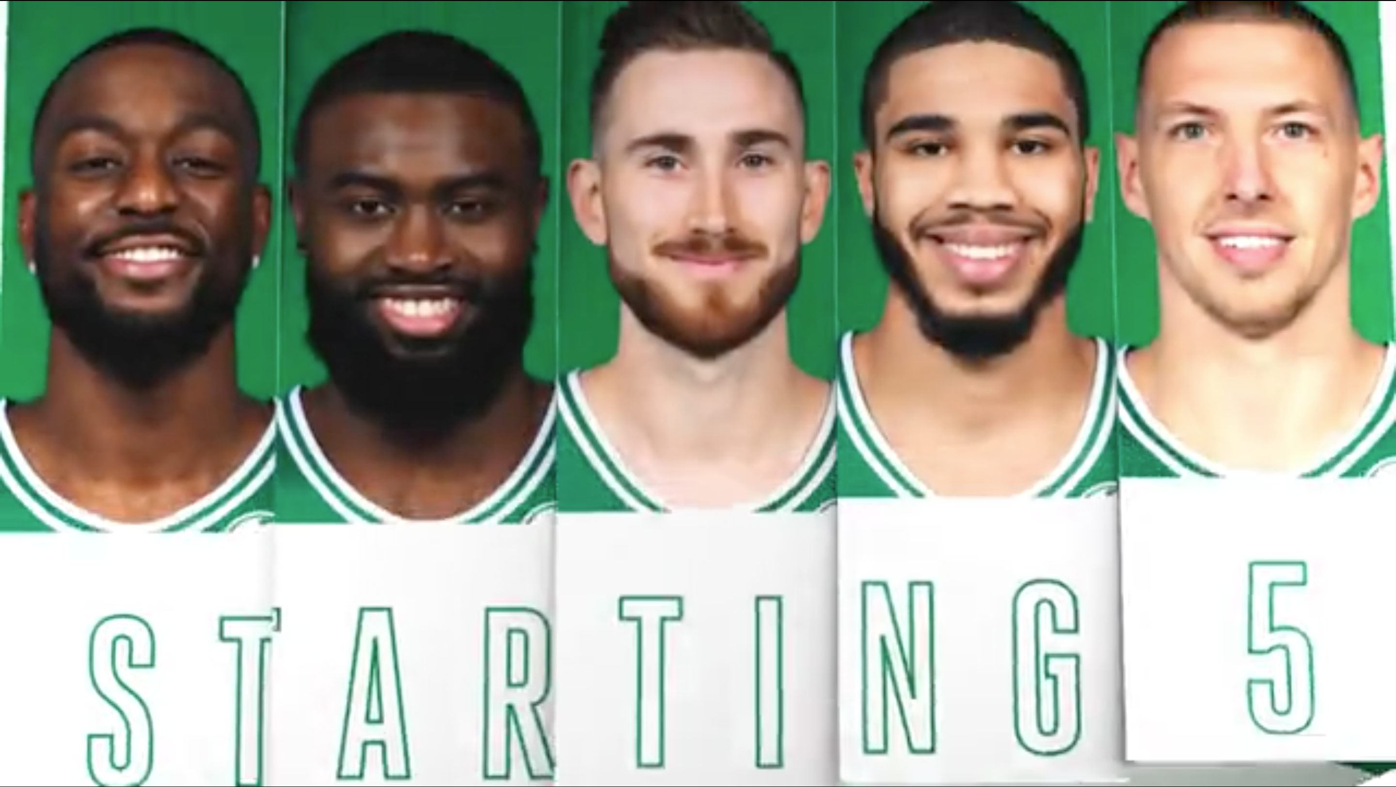 Starting 5 Announcement Graphic